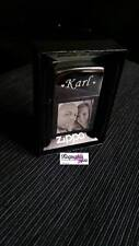 PHOTO & TEXT ENGRAVED GENUINE ZIPPO LIGHTER CHROME POLISHED - PERSONALISED