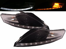 Mondeo BA7 MK4 2007-2014 Projector HEADLIGHT LED R8Look BLACK for FORD LHD