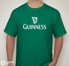 GUINNESS Beer Logo T - Shirt Tee Lager St. Patrick's Day Dilly Party Ireland