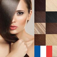 PREMIER PRIX EXTENSIONS DE CHEVEUX 100 % NATURELS A CLIPS QUALITE REMY 40-60 cm