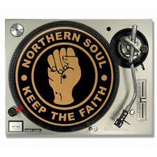 CORK NORTHERN SOUL - KEEP THE FAITH DJ SLIPMATS / Turntable SLIP MATS - TECHNICS