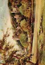 A4 photo allbon Charles F 1856 1926 en Angleterre inconnues 1910 Haddon Hall du