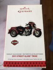 New listing 2013 Hallmark Harley-Davidson Christmas Ornament  Street Glide Trike