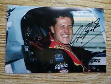 Michael Schumacher Original signiertes Autogrammfoto Sportwagen WM 1990 sehr RAR