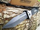 TANTO BLADE KNIFE Military G-10 HEAVY DUTY Spring Assisted Tactical Rescue new!!