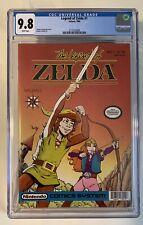 LEGEND OF ZELDA #1 CGC 9.8 (1990) White Pages Nintendo Comics System Valiant