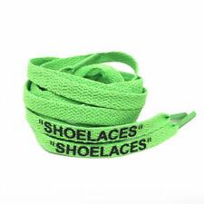 "Schnürsenkel ""SHOELACES"" green grün– Flats 130 cm OFF WHITE Max 1 90 97 Jordan"