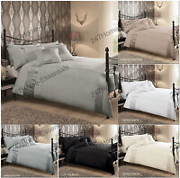 Luxury Duvet Quilt Cover With Pillowcase Bedding Set CAPRICE Double King Single