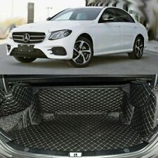 Trunk Cargo Protection Carpets PU Leather Boots Liner Pet Mats For Benz E-Class