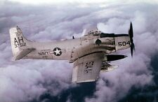 A-1H Skyraider Douglas US Navy Attack Airplane Wood Model Regular New