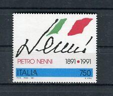 Italia 1991 Celntenario nascita politico Pietro Nenni MNH