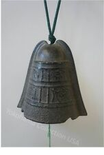 """Windchime Furin Antique Color Iwachu Cast Iron  """"Hisabi"""" Ancient Bell/Made Japan"""