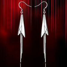 Calla lily Long Earring with S925 Sterling Silver For Heart and Love-ER64