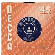 "Jet Harris & Tony Meehan - Diamonds 7"" Single 1963"