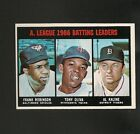 4909* 1967 Topps # 239 AL Batting Leaders NM