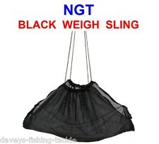 NGT BLACK WEIGH SLING NET FOR BARBEL CARP FISHING WEIGHING SCALES TRIPOD T-BAR