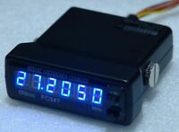 Galaxy FC347 6 Digit Frequency Counter Blue CB 10M 11M Superstar 3900 148GTLDX