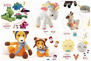 Sirdar Happy Cotton and Happy Chenille pattern books  Amigurumi crochet  £3.75