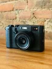 Fujifilm X100F - 24.3MP Digital Point and Shoot Camera - BLACK