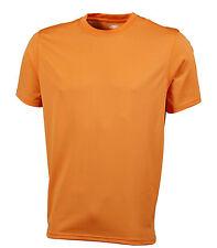 Maglie e top da uomo arancione per palestra, fitness, corsa e yoga taglia L