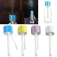 Portable Mini Water Bottle Caps Humidifier Aroma Air Diffuser Mist Maker 1Pc