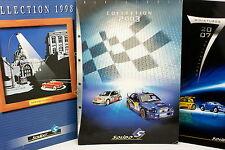 Catalogue - Solido - Lot de 3 - 1998 2003 2007