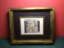 VORTICIST ERA, DAVID BOMBERG INTEREST, WITH INITIALS DB.