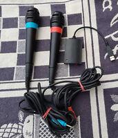 Singstar Mikrofone- Original Sony (PS2) - Playstation 2 & 3 - Sing Star