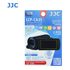 LCD Screen Protector For Canon Camcorder HF G10 G20 G30 G40 HF-G40 3.5 inch 2p
