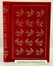 Easton Press THE ART OF LOVE Ovid Sex Collector's LIMITED Edition Latin Poetry