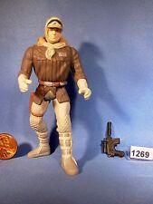 Star Wars 1995 HAN SOLO in HOTH GEAR with Blaster Pistol 3.75  inch Figure
