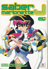 SABER MARIONETTE J n°  4 edizione Play Press Manga a 1€