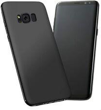 Samsung Galaxy S8 Case Soft TPU Anti-Scratch Slim Thin Protective Cover Black