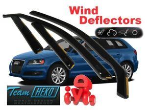For Audi A3 S3 2004 - 2012 (8P)  Sportback Wind deflectors 4.pc  HEKO  10221