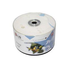 100-Pack LG 16X Logo Top Blank DVD-R DVDR Recordable Disc Media 4.7GB