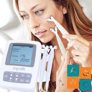 7e MyoLift Mini Face Lift Machine Microcurrent 400 mA Beats Trinity Face Toning