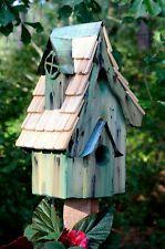 """Birdhouses - """"Coventry Cottage"""" Birdhouse - Green - Garden Decor"""