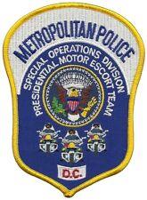 Metropolitan Police Special Operations Presidential Motor Escort Team D.C. Patch