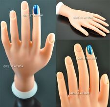 Authentic Blendable Finger Nail Movable Soft Practice Training Hand Tool #86