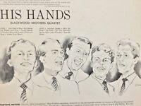 THE BLACKWOOD BROTHERS His Hands 1958 vinyl LP NM/M+bonus CD TESTED