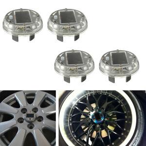 4 Modes Solar Energy 12PCS LED Flash Wheel Tire Valve Neon Light Lamp Decor Cell