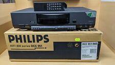Philips DCC 951 Digital Compact Cassette Deck + Remote Control + Original Box
