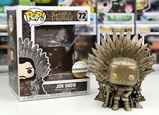 Funko Pop #72 GOLD Game Of Thrones JON SNOW Metallic Funhouse Custom Exclusive