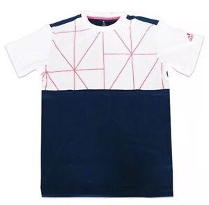 NWT Adidas Climalite Club Tech Tennis Workout Gym Soccer Athletic Crew Shirt $45
