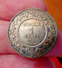 1891 Tunisia 1 Franc Silver 835