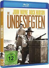 Blu-ray DIE UNBESIEGTEN # John Wayne, Rock Hudson ++NEU