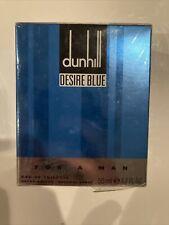(SEALED) Dunhill Desire Blue 50 ml / 1.7 oz Eau de Toilette Natural Spray (RARE)