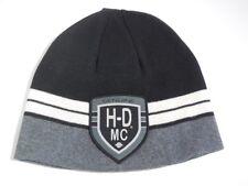 HARLEY DAVIDSON réversible Stripped Bonnet tricoté Casquette Capuchon 97809-18vm