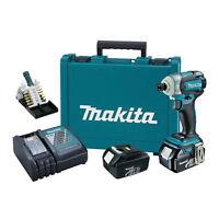 Makita LXDT06X1 18v LXT Lithium-ion Brushless 3-Speed Impact Driver Kit w/Bits
