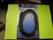New ! 3PK 6FT HDTV Cable 1080P High Definition TC Cable Clearer Picture